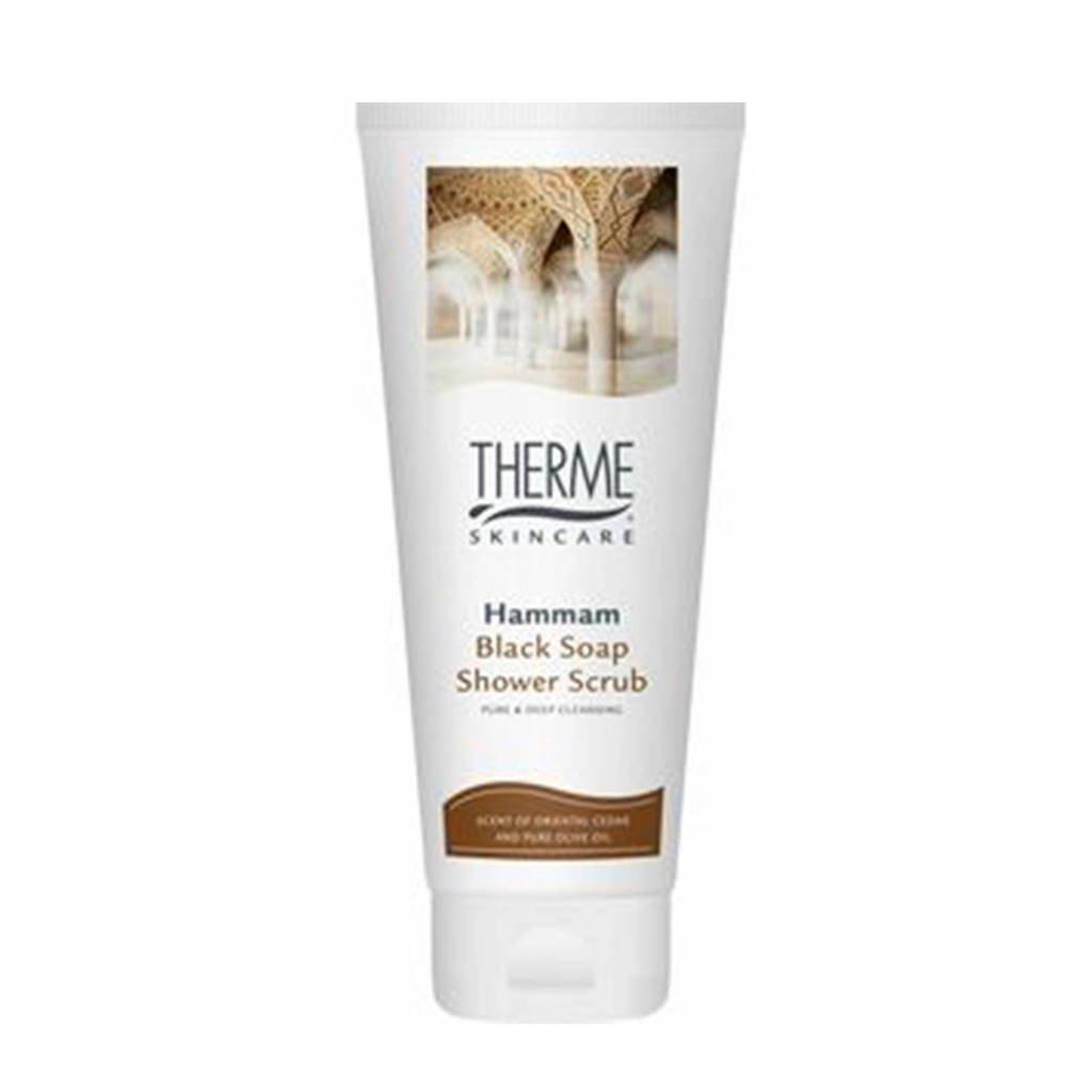 Therme Hammam Black Mud scrub - 200 ml