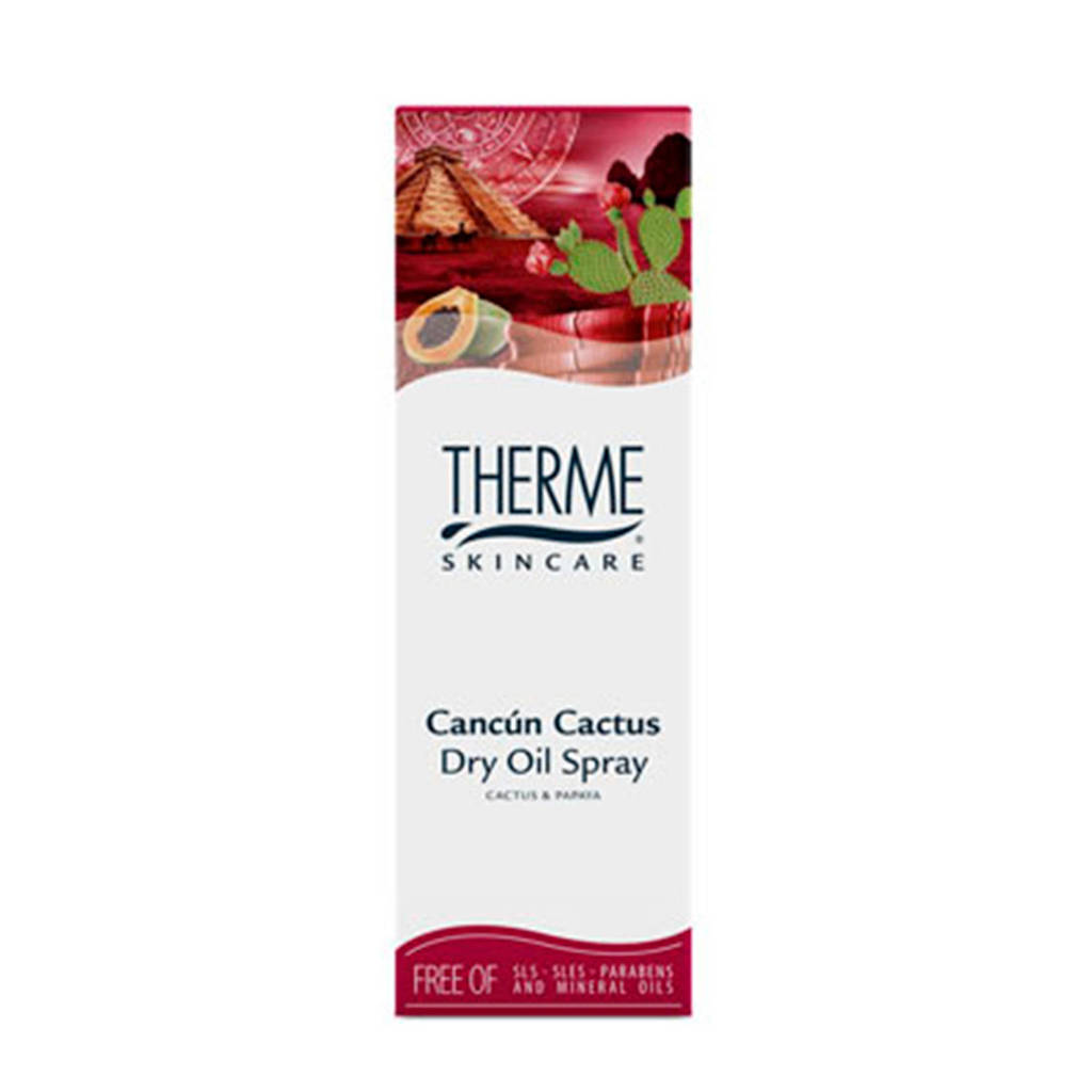 Therme Cancun Cactus bodyolie spray - 125 ml