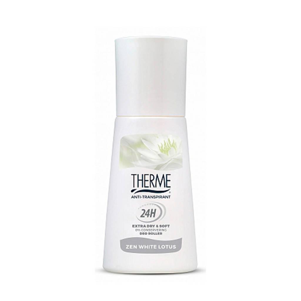 Therme Anti-Transpirant Zen White Lotus deodorant roller - 60 ml