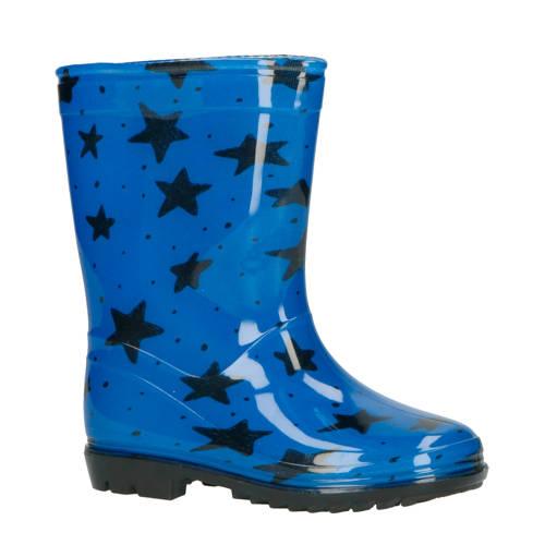 XQ regenlaarzen blauw/zwart