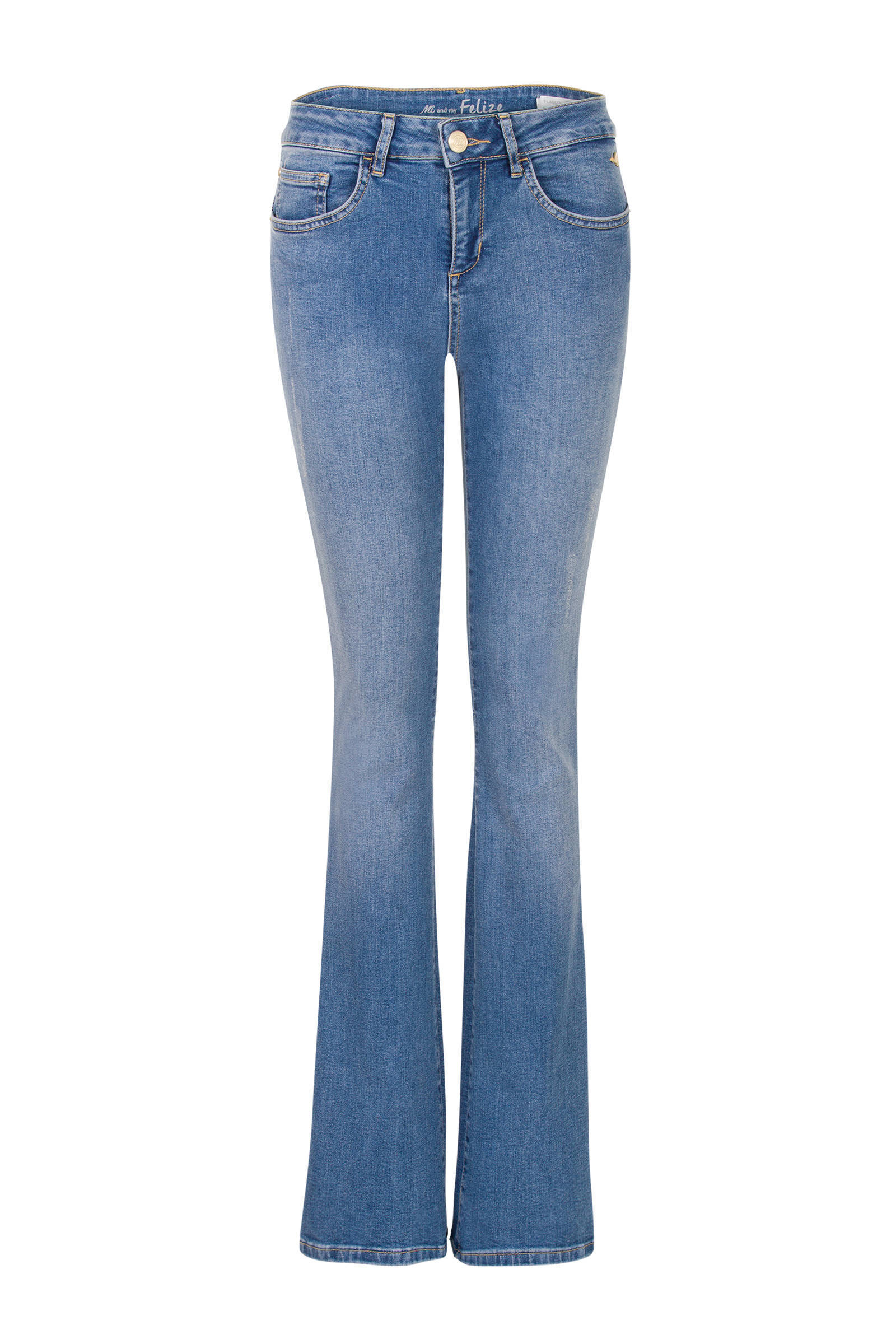 flared jeans blauw 36 inch