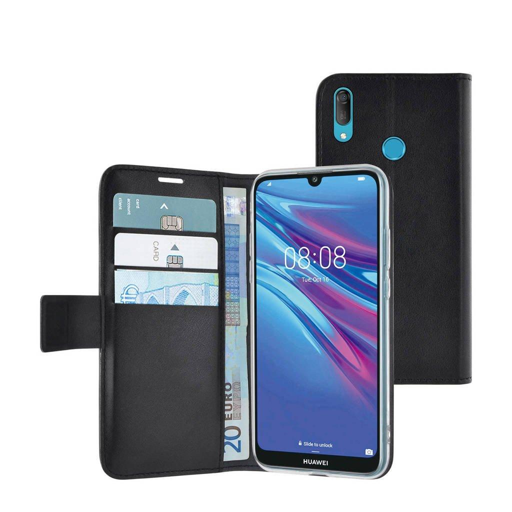 Azuri Huawei Y6 2019 wallet case, Zwart