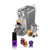 Sage CREATISTA PLUS Nespresso machine, Zilver