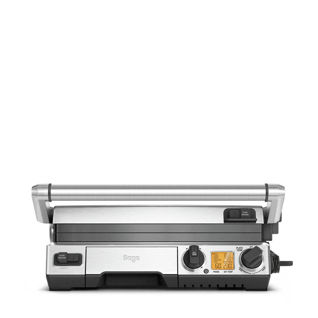 Sage SMART GRILL contactrgrill, Roestvrij staal