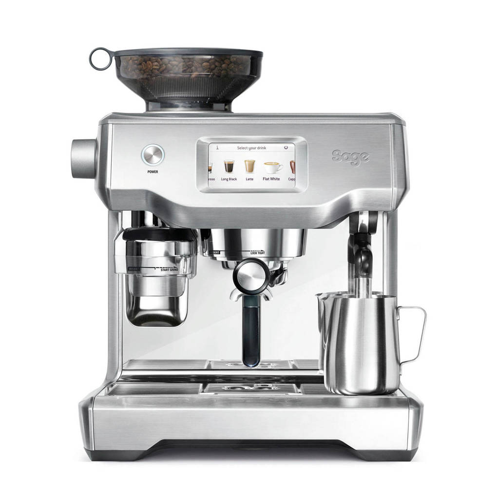 Sage Oracle Touch espressomachine, Zilver