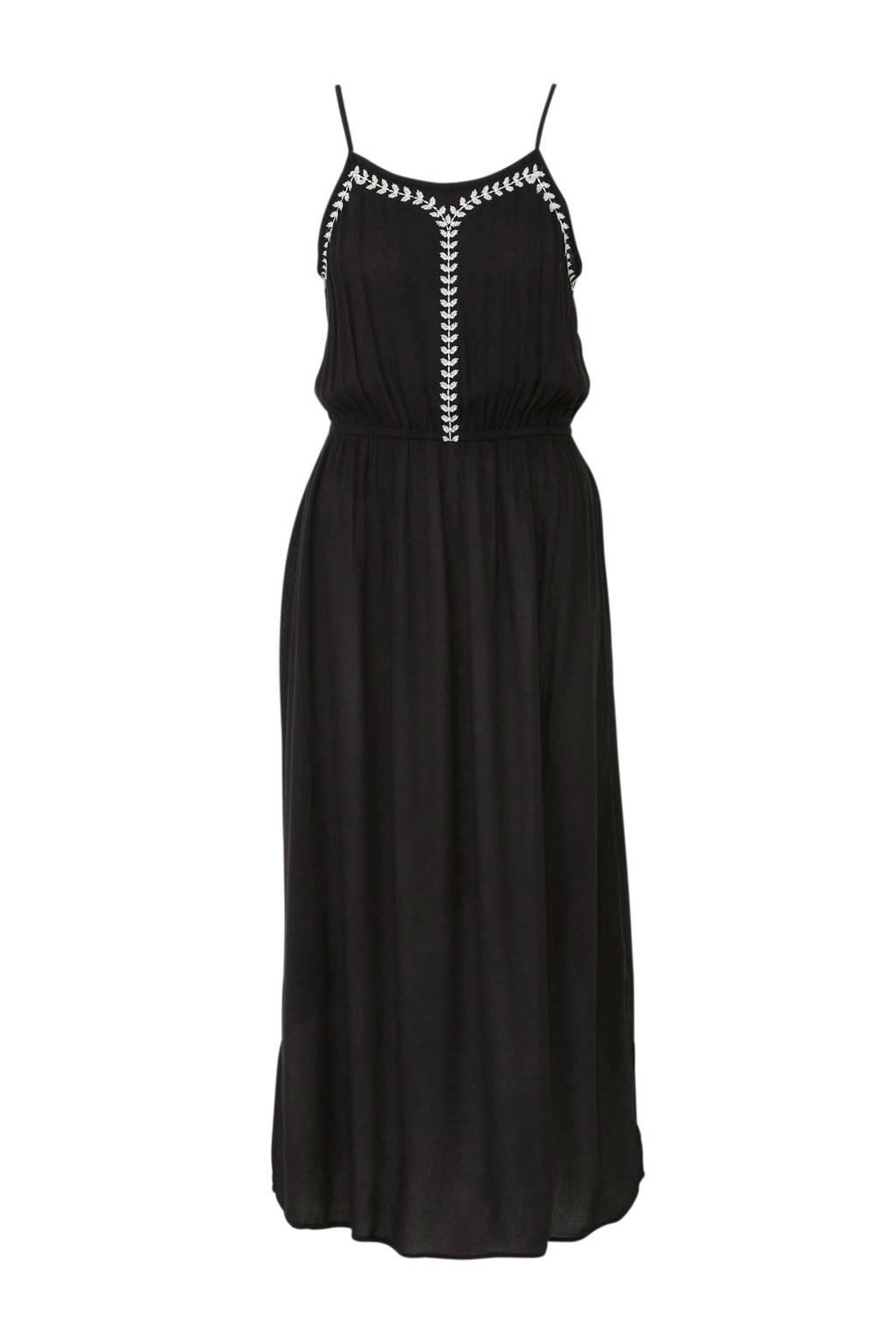 C&A Yessica jurk met borduursel zwart, Zwart