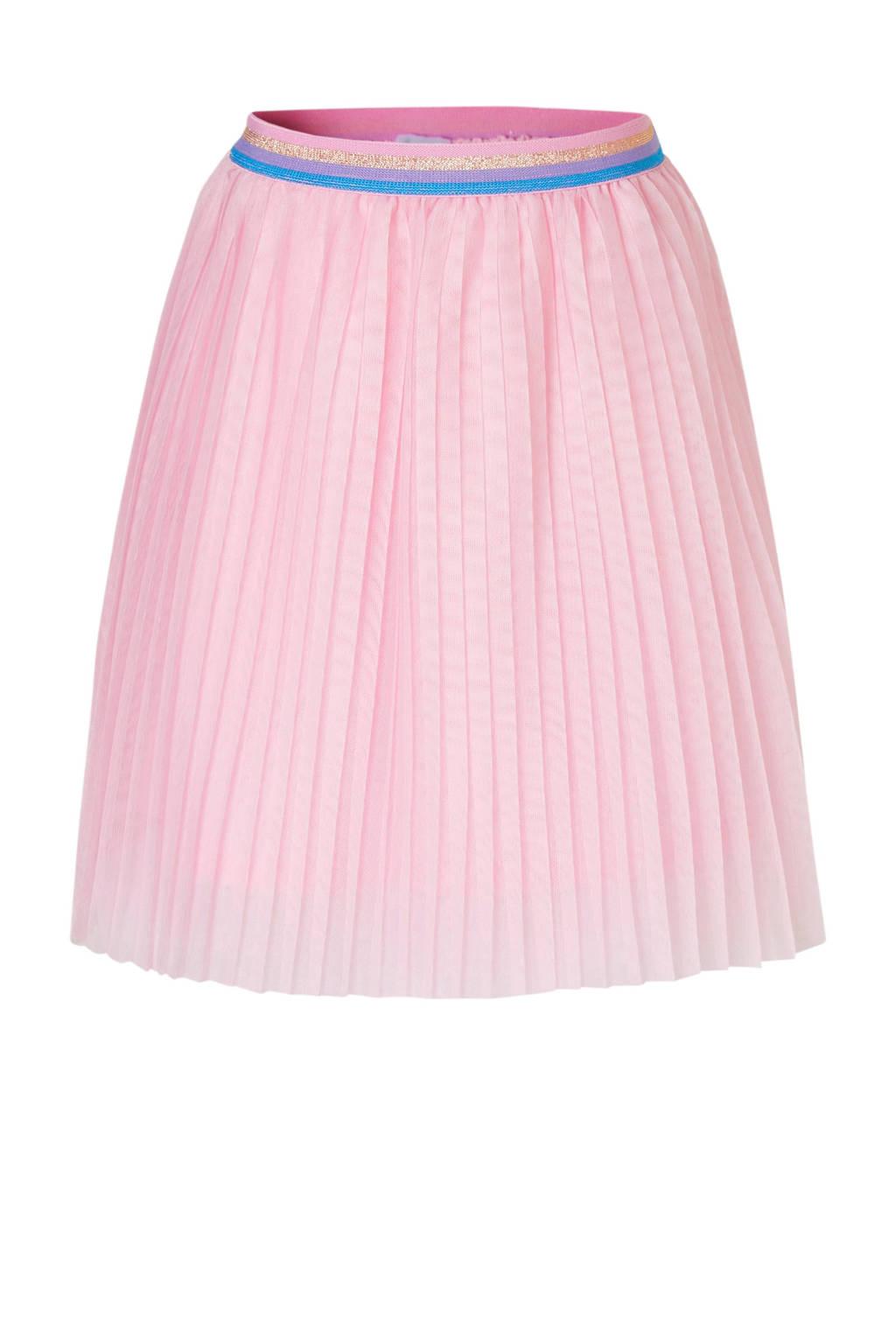 C&A Palomino tule plissé rok roze, Lichtroze