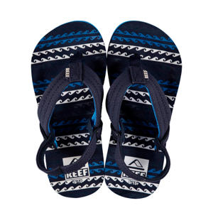 Little Ahi  teenslippers donkerblauw