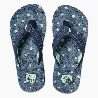 3770239f4e3 Kids Ahi Glow teenslippers blauw