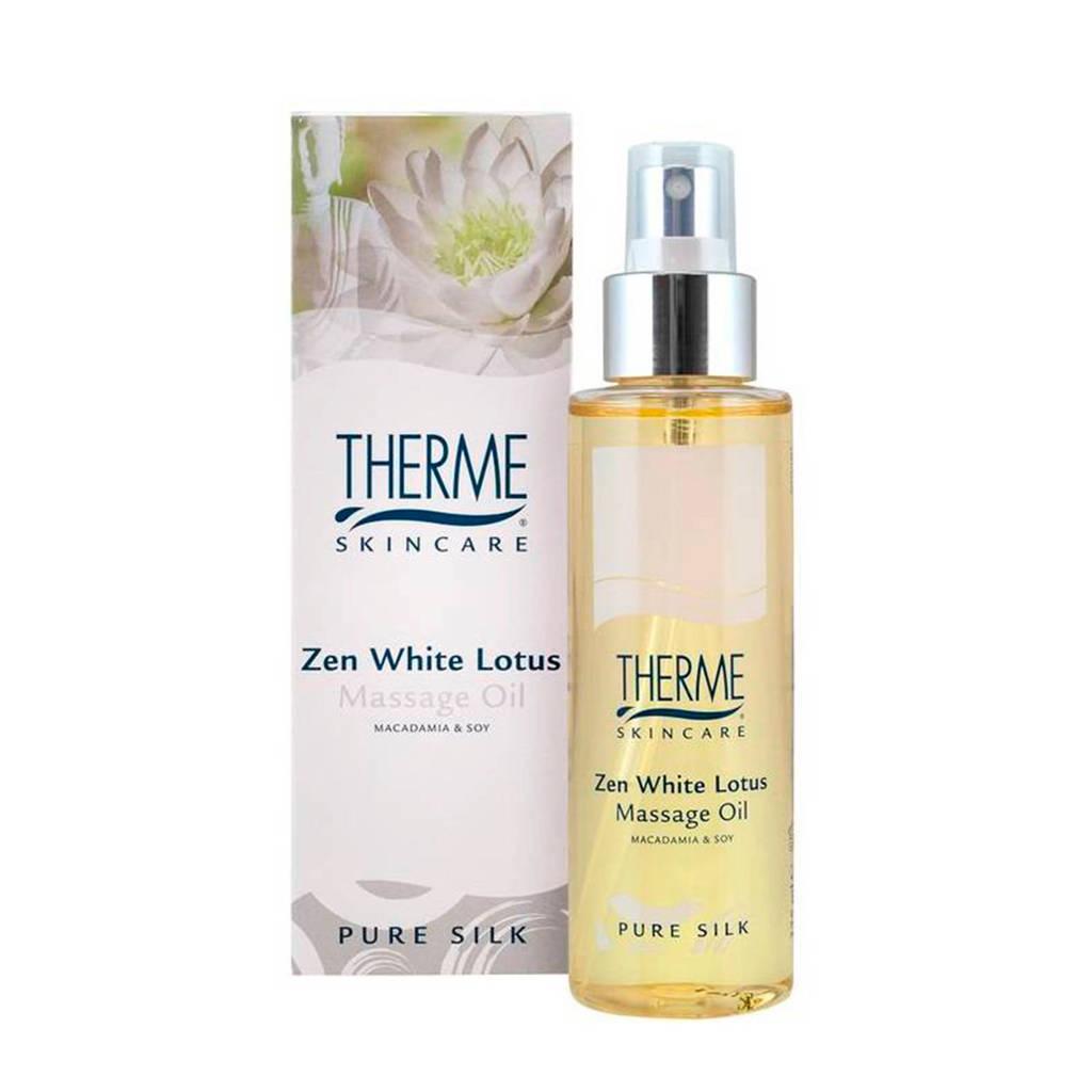 Therme Zen White Lotus massageolie - 125 ml