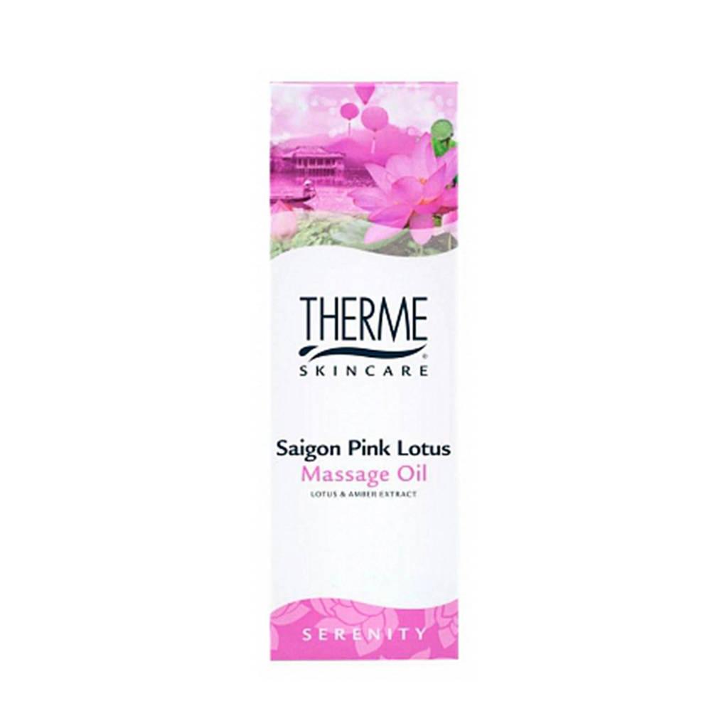 Therme Saigon Pink Lotus massageolie - 125 ml
