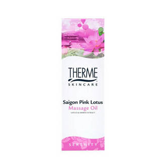 Saigon Pink Lotus massageolie - 125 ml