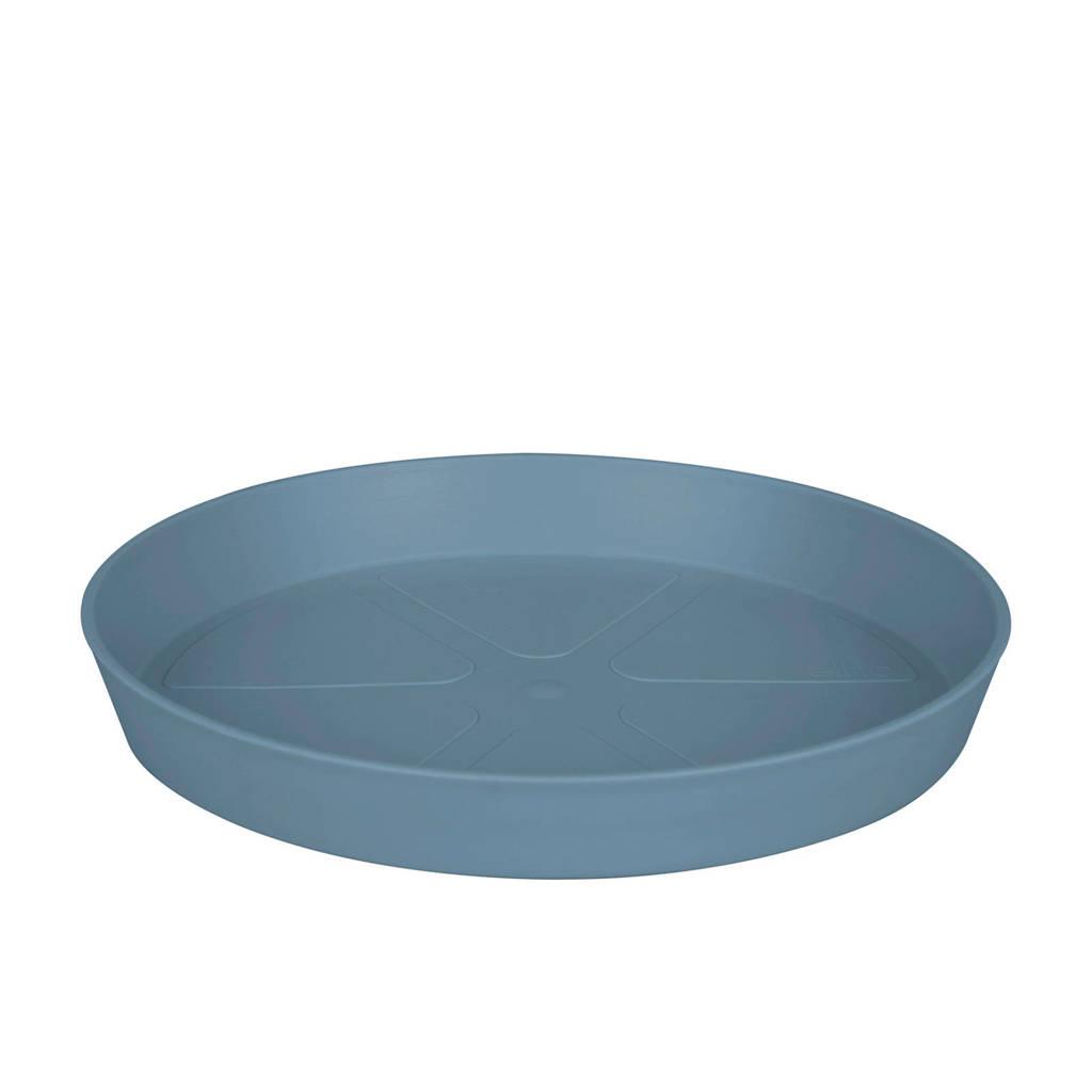 Elho schotel Loft Urban 28 cm, Blauw