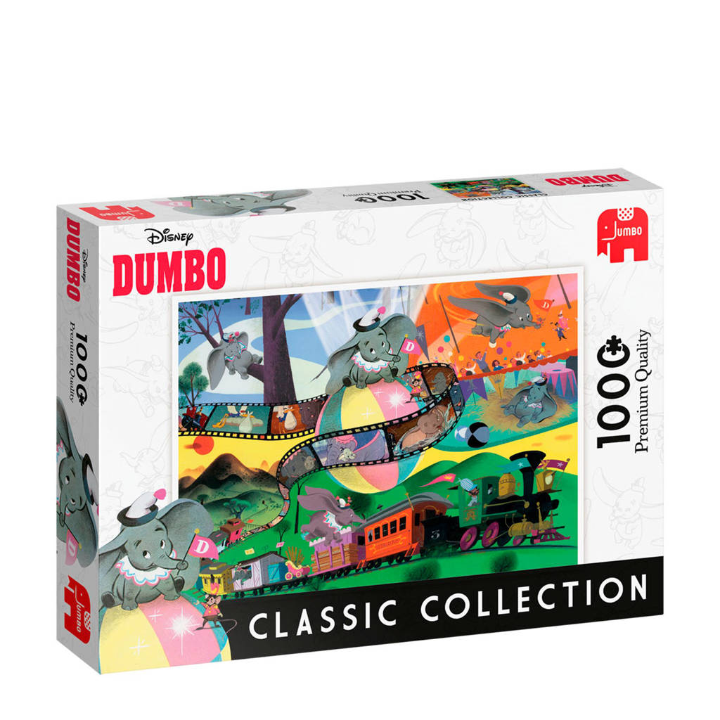 Jumbo Disney Classic Collection Dumbo  legpuzzel 1000 stukjes