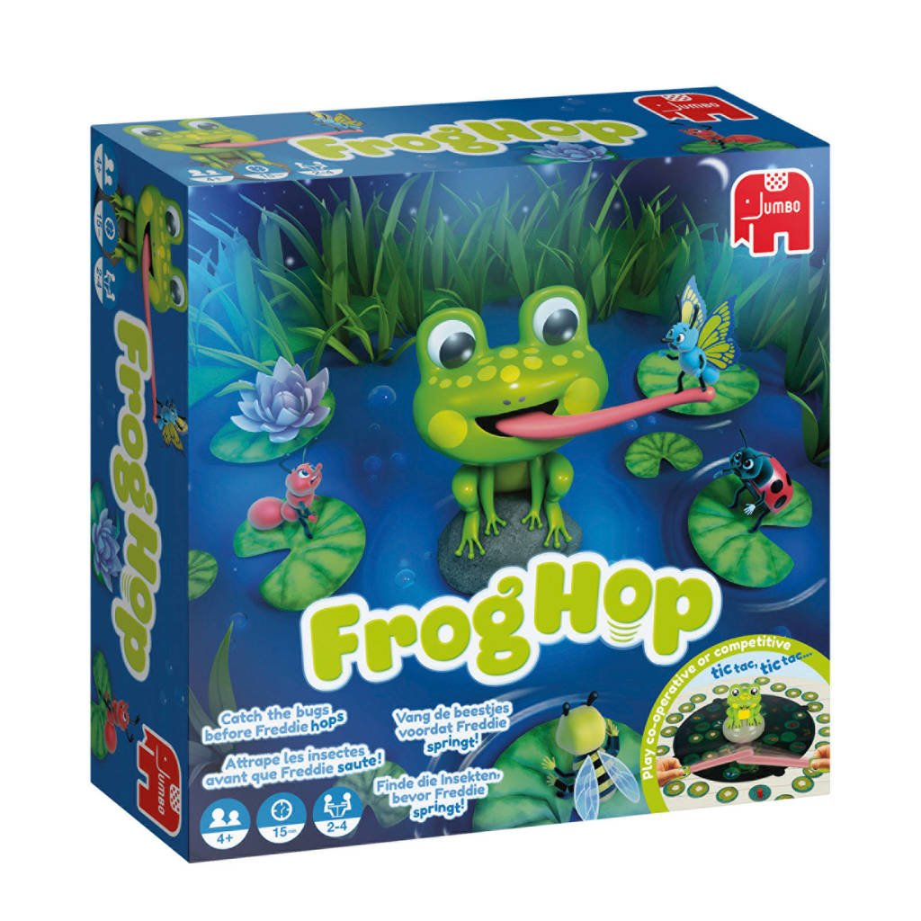 Jumbo Frog Hop bordspel
