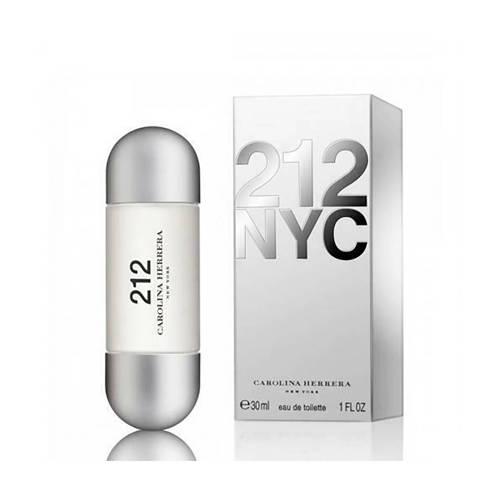Carolina Herrera 212 Eau de Toilette (EdT) 30 ml silber