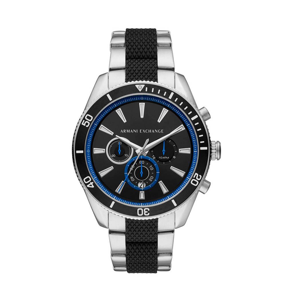 Armani Exchange heren horloge Enzo AX1831, Zilver