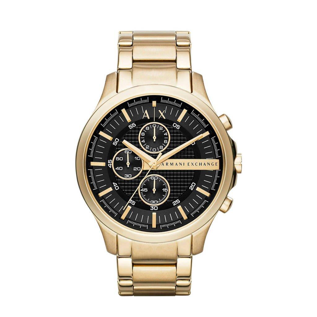 Armani Exchange Hampton Heren Horloge AX2137, Goud