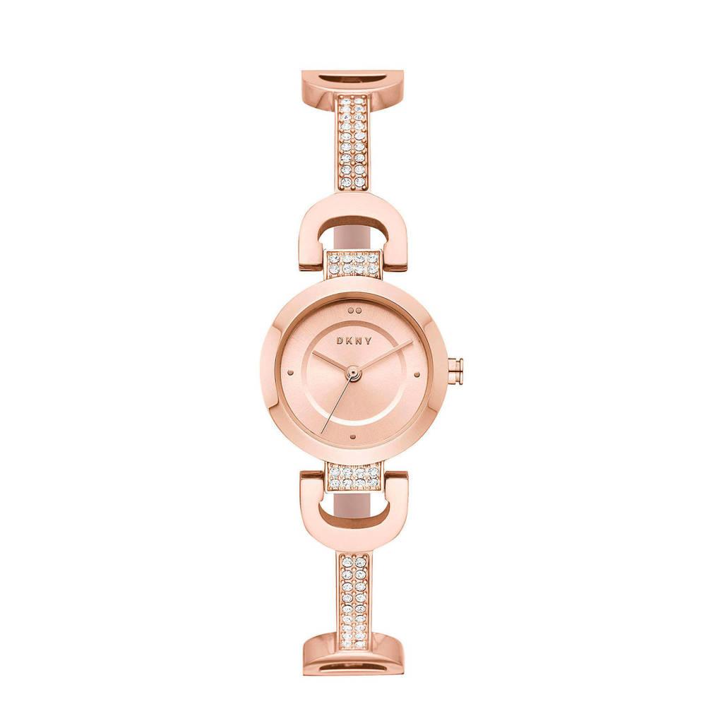 DKNY City Link Dames Horloge NY2752, Rosé