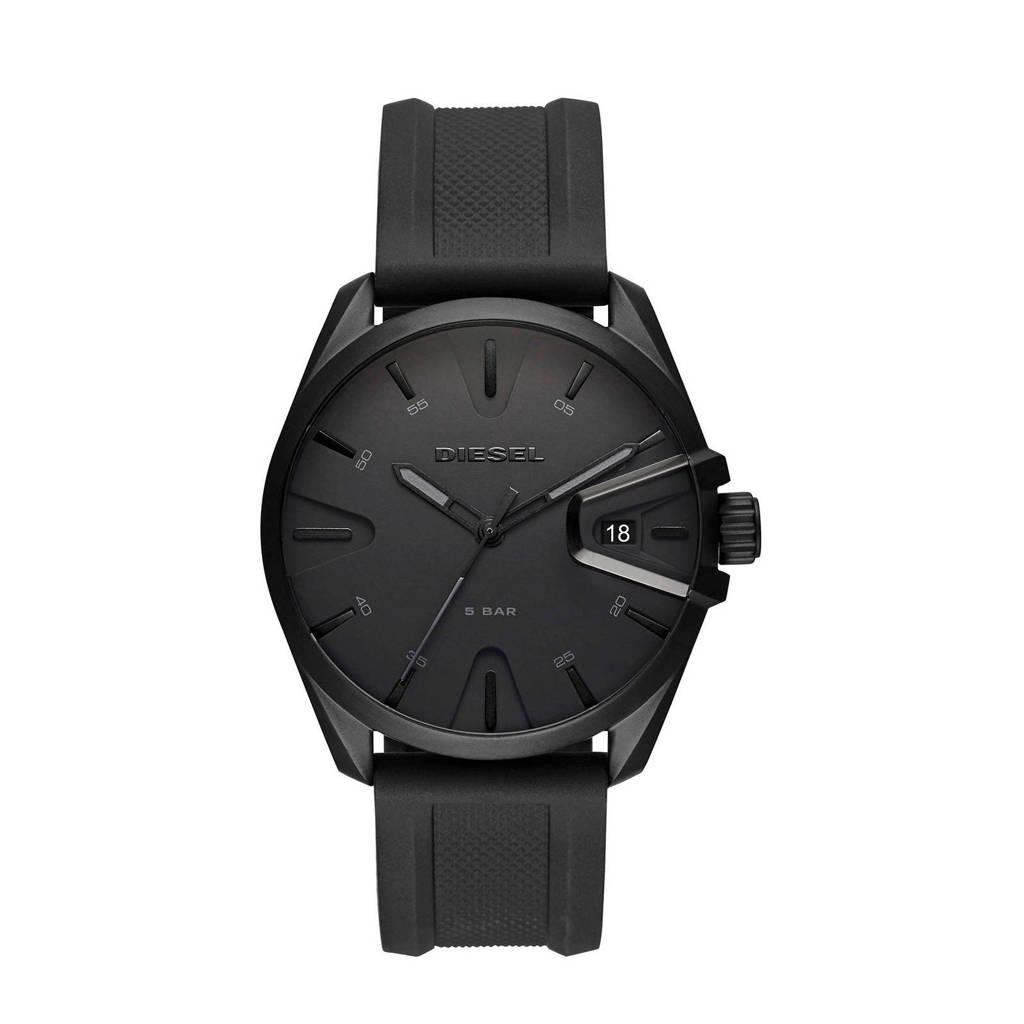Diesel horloge Ms9 DZ1892 zwart, Zwart