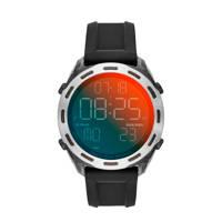 Diesel horloge  Crusher DZ1893 zwart/grijs, RVS/zwart