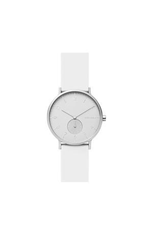 horloge Aaren SKW6520 wit/zilver
