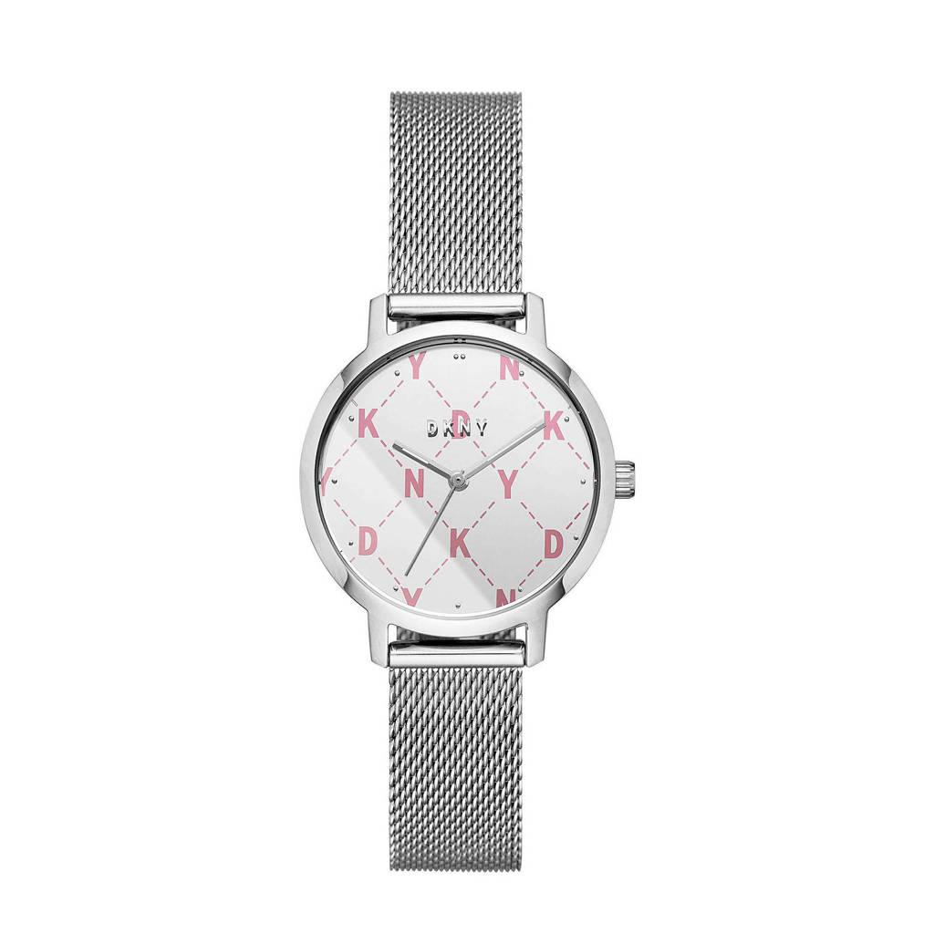 DKNY horloge NY2815 zilver, Zilver