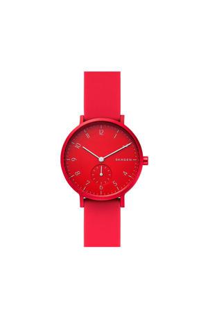 horloge Aaren SKW2765 rood