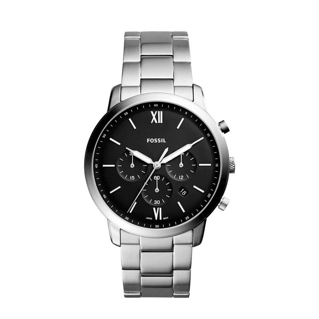 Fossil  horloge  Neutra Chrono FS5384 zilver, Zilver