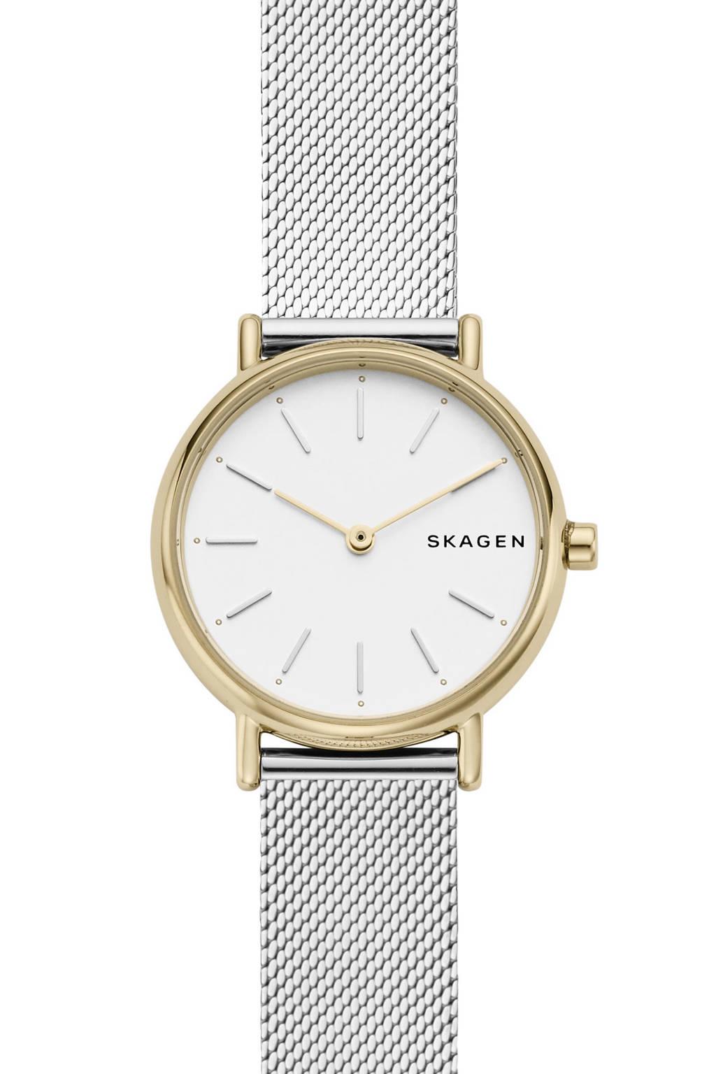 Skagen horloge SKW27429 zilver, Zilver
