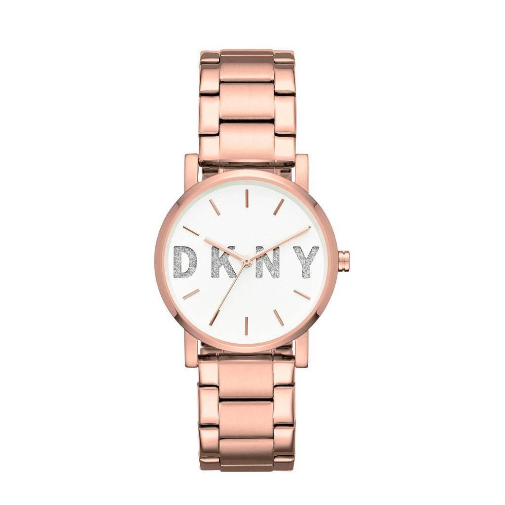 DKNY Soho Dames Horloge NY2654, Rosé