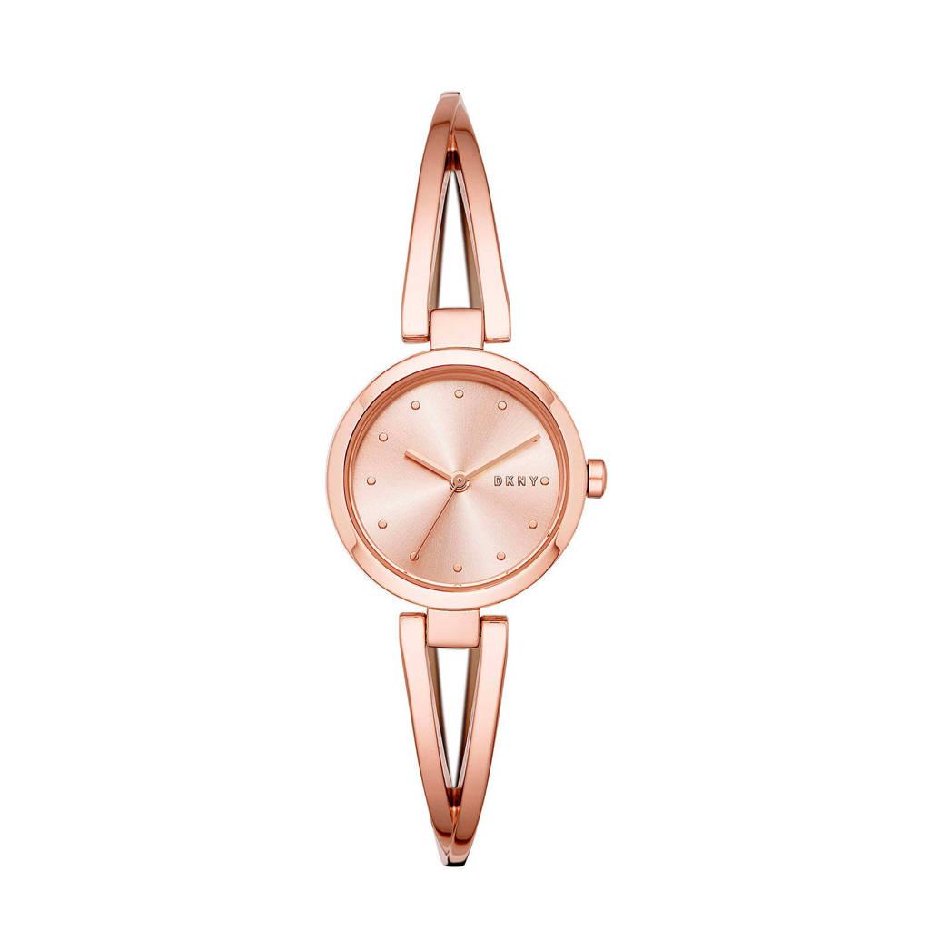 DKNY Crosswalk Dames Horloge NY2812, Rosé