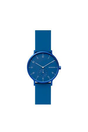 horloge Aaren SKW6508 blauw