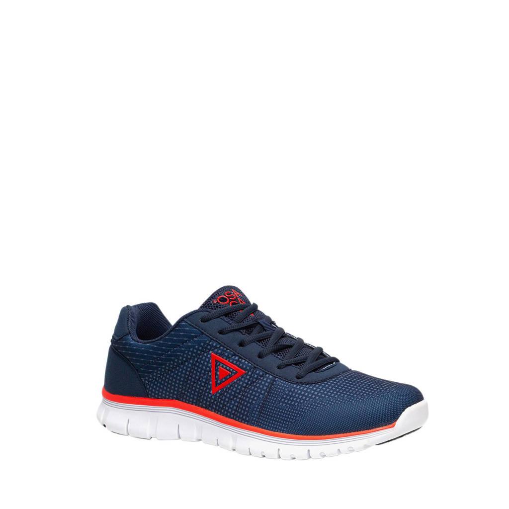 Scapino Osaga sneakers blauw/rood, Blauw/rood