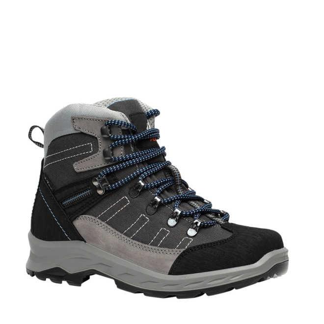 90526549214 Scapino. Mountain Peak leren wandelschoenen grijs