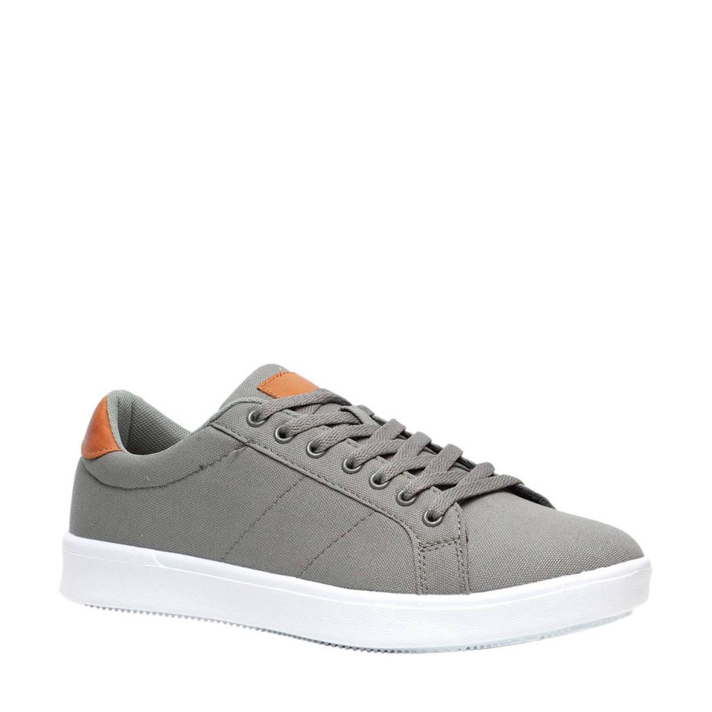 Scapino Blue Box  sneakers grijs/cognac, Grijs