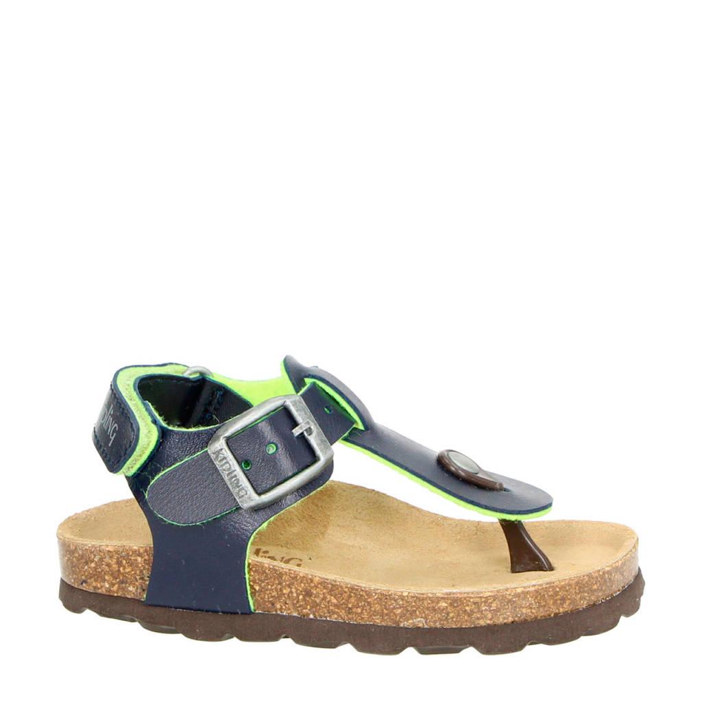 Kipling   Kas 2 sandalen blauw, Blauw