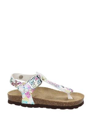 Liesbeth sandalen metallic
