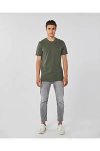 WE Fashion T-shirt met printopdruk groen, Groen