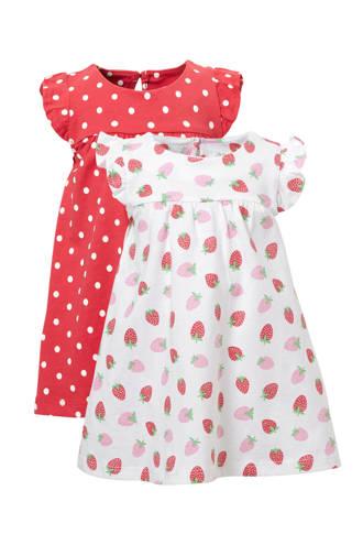 Baby Club jurk - set van 2