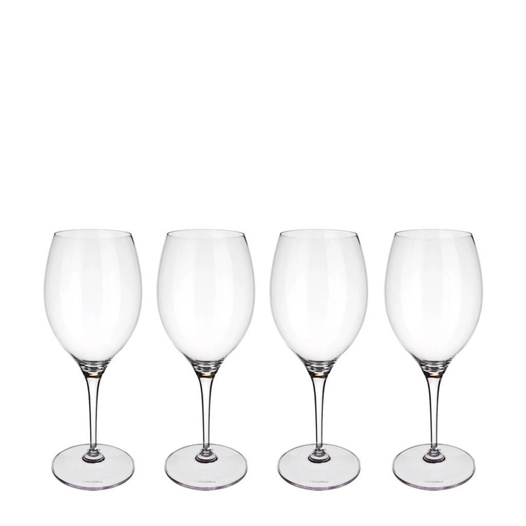 Villeroy & Boch Maxima bordeauxglas (Ø9,7 cm) (set van 4), Transparant