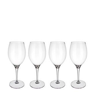 Maxima bordeauxglas (Ø9,7 cm) (set van 4)