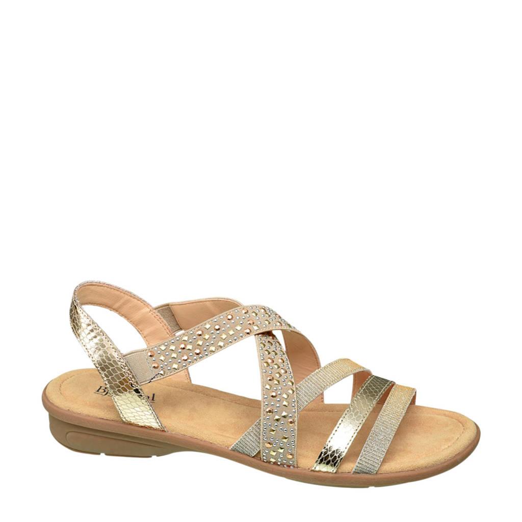 Bjorndal sandalen goud, Goud