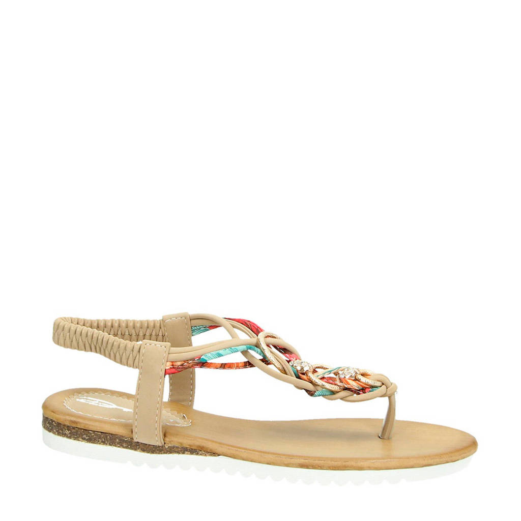 Dolcis sandalen beige/multi, Beige/multi