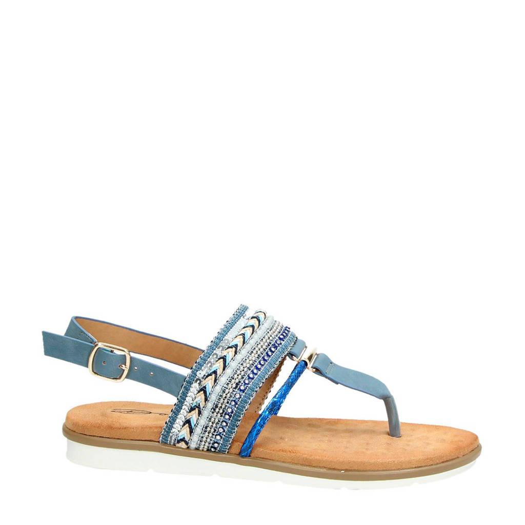 Dolcis sandalen blauw, Blauw