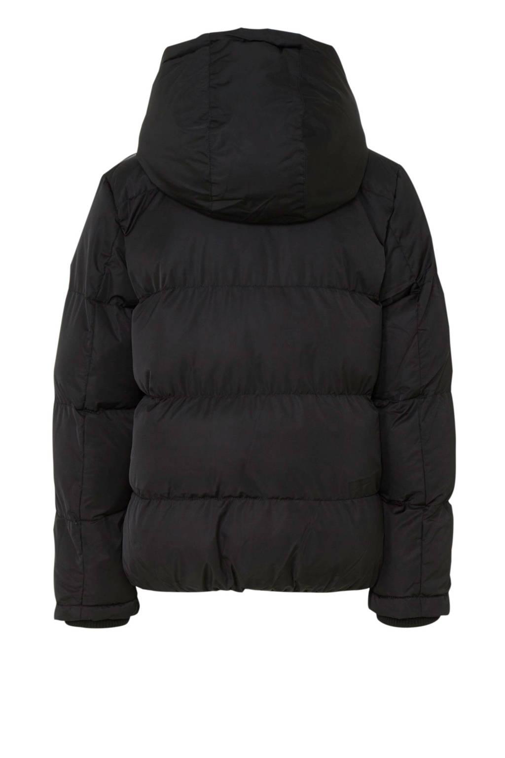 Cars winterjas Nicolet zwart, Zwart