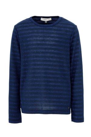 gestreepte trui Elasta donkerblauw/blauw