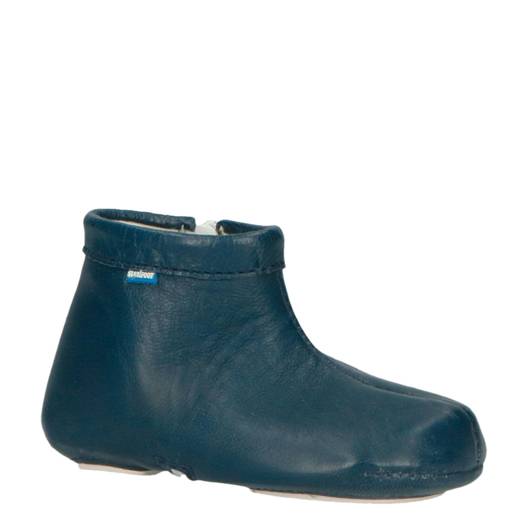 Stabifoot   Babyfoot leren babyschoenen blauw, Blauw
