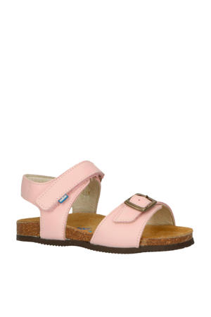 Happy Pink leren sandalen roze