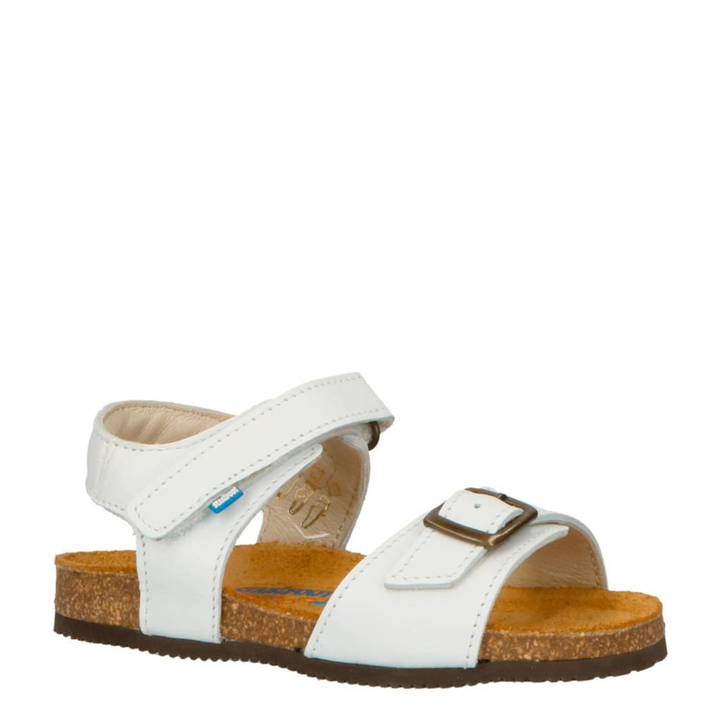 Stabifoot   Happy White leren sandalen wit, Wit